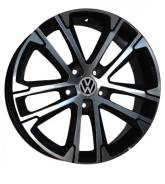 Replica VW-7396 7.0xR16 5x100 ET38 D57.1 S VW Polo Sedan
