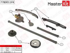 Комплект цепи ГРМ Nissan Primera/X-Trail 2.0i-2.5i QR20/QR25DE 01 77B0011FK [77B0011FK]
