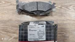 Колодки тормозные Front WVA21892 GDB3123