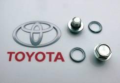 Пробка АКПП сливная с прокладкой (Avers) Toyota 90341-10011-00