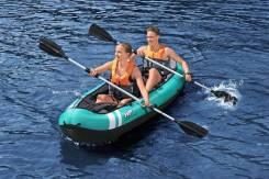 Надувная байдарка Каяк Hydro Force Kayaks Ventura X2 двухместная
