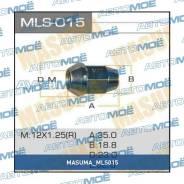 Гайка колесная M12x1.25 под ключ 19мм L-35мм Masuma MLS015