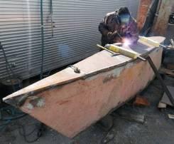 Ремонт алюминевых и стальных катеров, яхт и лодок (корпус, редуктор)