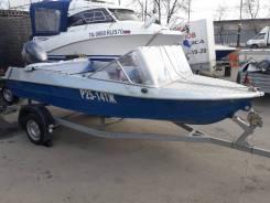 Продам моторную лодку Крым с лодочным мотором б/у