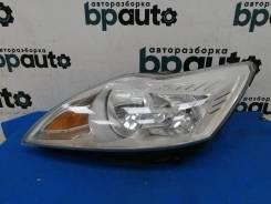 Фара галоген левая, светлый отражатель (8M51-13W030-AH) Ford Focus 2007- 2011