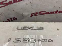 Эмблема багажника Lexus Ls500 5