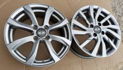Новые литые диски К7 на Lada Vesta, Largus R15