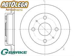 Диск тормозной передний G-brake Daihatsu Hijet S200/S320