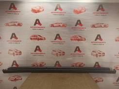 Накладка порога кузова - наружная облицовка Nissan Almera (2012-2019) [768504AA0A], правая