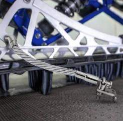 Стальные скребки для льда, для снегоходов Polaris, Yamaha, Arctic Cat