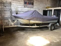 Моторная лодка ока 4 + мотор 40лс + прицеп