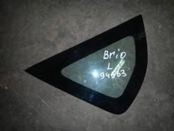 Стекло двери задней левой (форточка), Hafei (Хафей)-BRIO