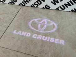 Подсветка в двери с проекцией Land Cruiser