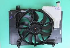Вентилятор охлаждения радиатора Nissan AD VZNY12, HR16DE. 21487-JN00B,2