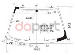 Стекло лобовое в клей Ford Форд Mondeo Мондео / contour 93-00 4 / 5d hbk / wgn XYG Mondeolfw/X, переднее
