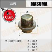 Болт Masuma 45 маслосливной A/T (с шайбой) Honda 20x1,5mm