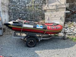 Продам лодку, мотор, телегу