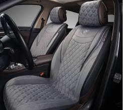 Накидки на сиденья автомобиля из алькантары Brilliant 2шт