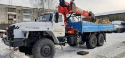 Урал 4320 бортовой с кму ит-200 + люлька