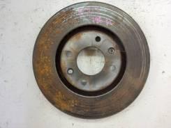 Тормозной диск Peugeot 207 2010 [4246W8] WC 5FV, передний
