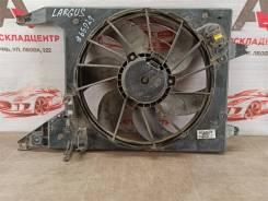 Диффузор радиатора охлаждения - в сборе Nissan Almera (2012-2019) [8200765566]