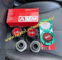 Хабы AVM-743XP Extreme усиленные, механические. MMC Pajero / Delica.