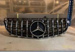 Решетка радиатора E207 AMG GT хром рест Mercedes Benz