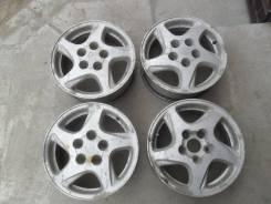 Пара оригинальных литых дисков Toyota R15 5х114,3.