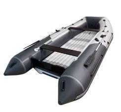 Надувная лодка ПВХ, ORCA 420GT НДНД, оранжевый/черный