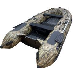 Надувная лодка ПВХ, Навигатор 380PRO НДНД, камуфляж лес, Forza