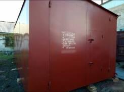 Продам металлический гараж 3.5*6м с калиткой.