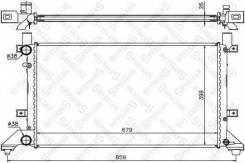 Радиатор системы охлаждения! VW LT28 2.3-2.8TDi 96> Stellox 1025007SX 10-25007-SX_