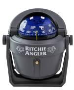 Компас Ritchie Angler, серый корпус синий циферблат, на кронштейне