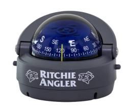 Компас Ritchie Angler, черный корпус синий циферблат