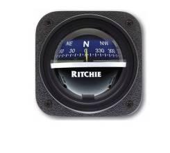 Компас Ritchie Explorer, черный корпус синий циферблат