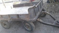 Телега на мини трактор