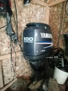 Продам лодочный мотор yamaha f100 aet в разбор