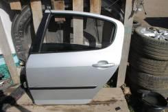 Peugeot 407 дверь задняя левая