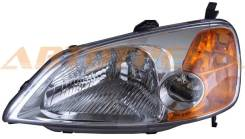 Фара Honda Civic 01-05 4D LH (Евросвет), левая