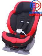 Кресло детское автомобильное swing moon, группа 1/2, черно-красное (6u) Ailebebe ALC453E