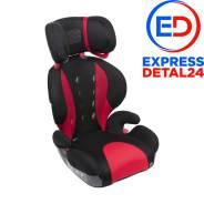 Кресло детское автомобильное saratto highback junior quattro, группа 2/3, черно-красное (6u) Ailebebe ALJ208