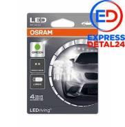 Комплект ламп w5w 12v 1w w2.1x9.5d ledriving standart w5w/зеленый 2шт. (1к-т) (6r) Osram 2880GR-02B