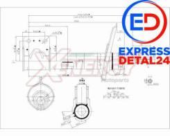 Амортизатор перед прав (6r) TORR DV1396R