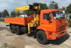 КМУ Камаз 43118-23027-50 (Евро-5) + Soosan SCS746L верх. упр. +борт сталь 6.2м. (без спалки)