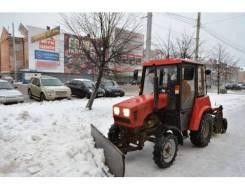 """Машина уборочная Беларус """"МУ-320М"""" (мотор ММЗ: коммунальный отвал + щетка)"""
