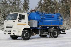 Илососная машина МВС-10 на шасси Камаз-53605-48 Е-5