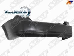 Бампер задний Chevrolet Lacetti 04- /Daewoo/Ravon Gentra 13- 4D SAT Stcvw10870