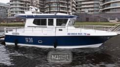Новый катер Nord Star 36 Patrol в наличии в Санкт-Петербурге