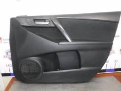 Обшивка двери Mazda 3 2011 [BBR468430L02] BL Z6, передняя правая