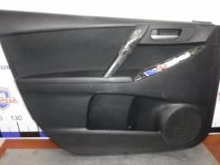 Обшивка двери Mazda 3 2011 [BBP868460J02] BL Z6, передняя левая